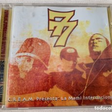 CDs de Música: CD 7 NOTAS 7 COLORES - LA MAMI INTERNACIONAL - HIP HOP. Lote 172753244