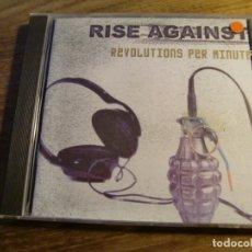 CDs de Música: RISE AGAINST - REVOLUTIONS PER MINUTE (CD, ALBUM) . Lote 172813315