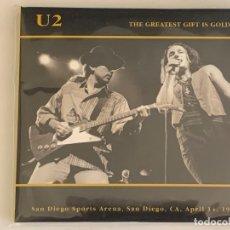 CDs de Música: U2 - THE GREATEST GIFT IS GOD - 2 CD, SAN DIEGO 1987. Lote 172815865