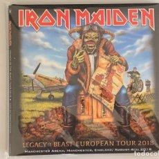 CDs de Música: IRON MAIDEN - LEGACY OF THE BEAST EUROPEAN TOUR 2018 - 2 CD, MANCHESTER 2018. Lote 172817932