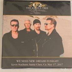 CDs de Música: U2 - WE NEED NEW DREAMS TONIGHT - 2 CD, SANTA CLARA 2017. Lote 172818573