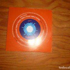 CDs de Música: BABASONICOS. LOS CALIENTES. POPART, 2003. EDT. ARGENTINA. CD SINGLE. IMPECABLE (#). Lote 172824105