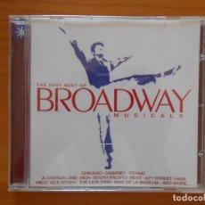 CDs de Música: CD THE VERY BEST OF BROADWAY MUSICALS (J3). Lote 172824725