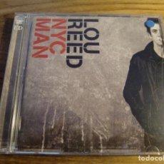 CDs de Música: LOU REED - NYC MAN (2XCD, COMP, RM) . Lote 172826180