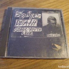 CDs de Música: SONIC YOUTH - SONIC DEATH (SONIC-YOUTH LIVE) (CD, ALBUM, RE) . Lote 172830370