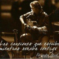 CDs de Música: ESTUCHE CD / DVD : ALEJANDRO ABAD EN COCIERTO . Lote 172832568