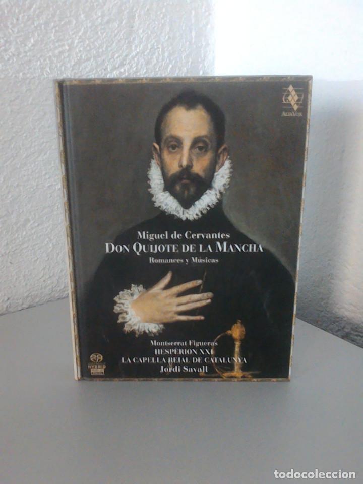 MIGUEL DE CERVANTES, DON QUIJOTE DE LA MANCHA, ROMANCES Y MUSICAS. JORDI SAVALL, MONTSERRAT FIGUERAS (Música - CD's Otros Estilos)