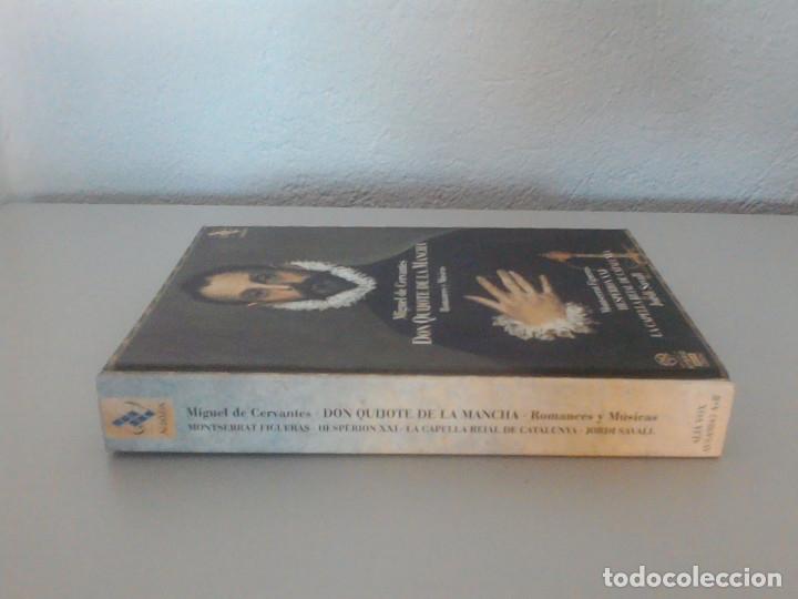 CDs de Música: MIGUEL DE CERVANTES, DON QUIJOTE DE LA MANCHA, ROMANCES Y MUSICAS. JORDI SAVALL, MONTSERRAT FIGUERAS - Foto 2 - 172877905