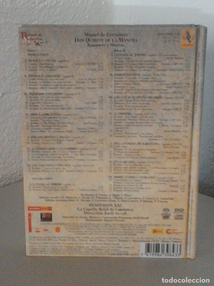 CDs de Música: MIGUEL DE CERVANTES, DON QUIJOTE DE LA MANCHA, ROMANCES Y MUSICAS. JORDI SAVALL, MONTSERRAT FIGUERAS - Foto 5 - 172877905