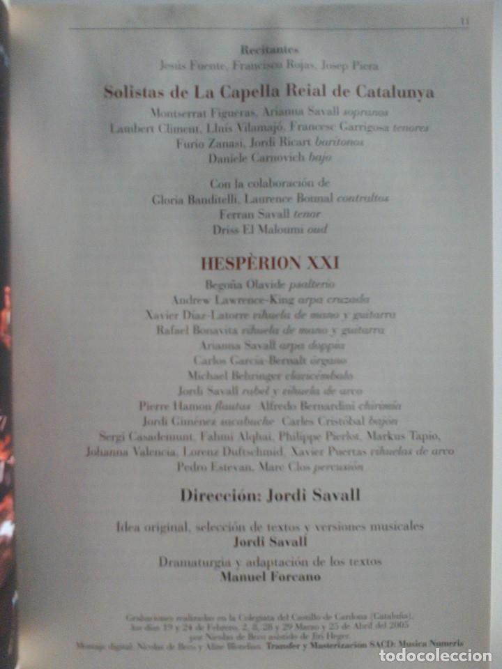 CDs de Música: MIGUEL DE CERVANTES, DON QUIJOTE DE LA MANCHA, ROMANCES Y MUSICAS. JORDI SAVALL, MONTSERRAT FIGUERAS - Foto 14 - 172877905