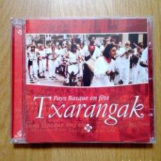 CDs de Música: TXARANGAK - PAYS BASQUE EN FÊTE, ELKAR, 2006. EUSKAL HERRIA.. Lote 172889318