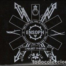 CDs de Música: ENSOPH--PROJECT X-KATON / THE SEDUCTIVE DWARF E.P. -METAL NU METAL--DIGIPAK. Lote 172896172