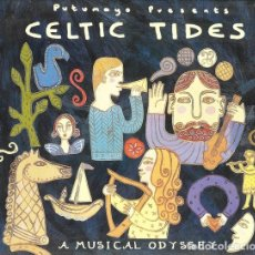 CDs de Música: PUTUMAYO PRESENTS: CELTIC TIDES - A MUSICAL ODYSSEY - CD DIGIPACK . Lote 172896438