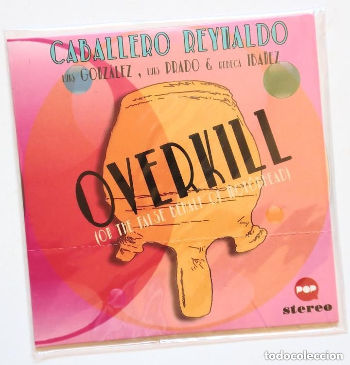 CD - CABALLERO REYNALDO - OVERKILL (ON THE FALSE BEHALF OF MOTÖRHEAD) (HOF 2015) (Música - CD's Heavy Metal)