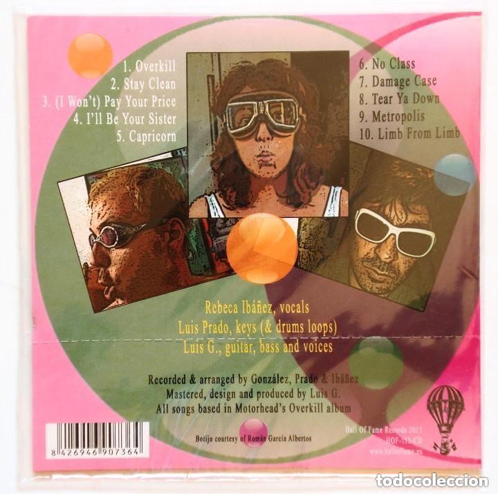 CDs de Música: CD - CABALLERO REYNALDO - Overkill (On The False Behalf of Motörhead) (HOF 2015) - Foto 2 - 172901610