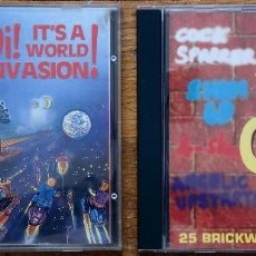 CDs de Música: LOTE 2 CD: OI! IT´S A WORLD INVASION + THE BEST OF OI! STREET PUNK CLASSIC SKINHEAD. Lote 172901720