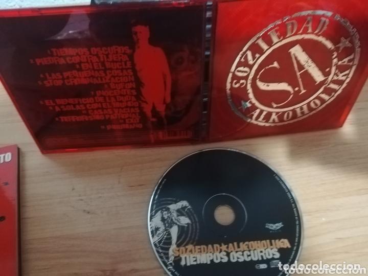 SOZIEDAD ALKOHOLIKA / CD / TIEMPOS OSCUROS (Música - CD's Rock)