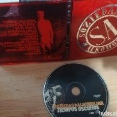 CDs de Música: SOZIEDAD ALKOHOLIKA / CD / TIEMPOS OSCUROS. Lote 172915568
