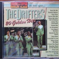 CDs de Música: THE DRIFTERS - 20 GOLDEN HITS - CD. Lote 172918992