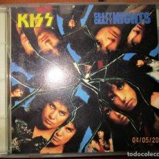 CDs de Música: KISS - CRAZY, CRAZY NIGHTS - CD. Lote 172919032