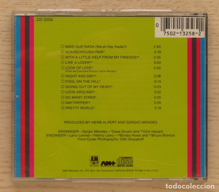CDs de Música: SERGIO MENDES & BRASIL'66. GREATEST HITS. (CD music) - SERGIO MENDES - Foto 2 - 168682953
