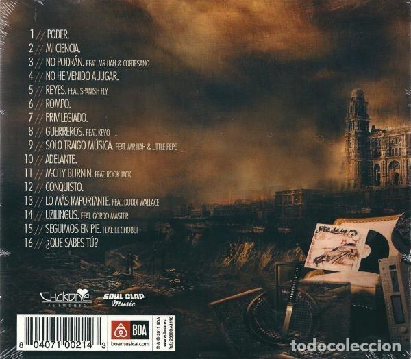 CDs de Música: JEFE DE LA M - P.O.D.E.R. - Foto 2 - 172998787
