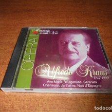 CDs de Música: CD. HOMENAJE A ALFREDO KRAUSS 1927-1999 ÓPERA II. Lote 173006010