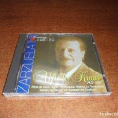 CDs de Música: CD. HOMENAJE A ALFREDO KRAUSS 1927-1999 ZARZUELA II. Lote 173006357