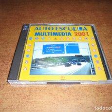 CDs de Música: DOBLE CD. AUTO ESCUELA MULTIMEDIA 2001. TEORÍA Y TESTS . Lote 173006692
