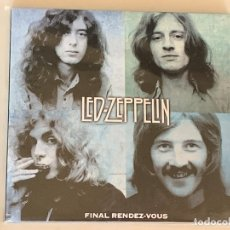 CDs de Música: LED ZEPPELIN - FINAL RENDEZ-VOUS - 2 CD, FRANCIA 1969. Lote 173006768