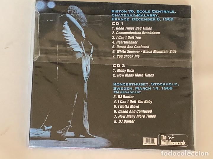 CDs de Música: LED ZEPPELIN - FINAL RENDEZ-VOUS - 2 CD, FRANCIA 1969 - Foto 2 - 173006768