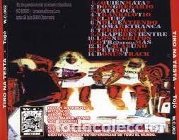 CDs de Música: TIRO NA TESTA - TOJÓ - Foto 2 - 173006788