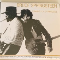 CDs de Música: BRUCE SPRINGSTEEN - RUNNING OUT OF INNOCENCE - 2 CD, OUTTAKES BORN TO RUN. Lote 173007194