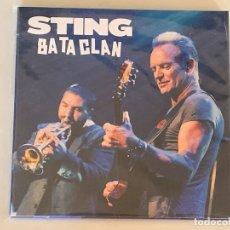 CDs de Música: STING THE POLICE - BATACLAN - 2 CD, PARIS 2016. Lote 173007539
