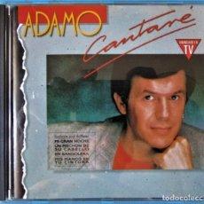 CDs de Música: ADAMO - CANTARÉ - HISPAVOX 1990. Lote 173034064