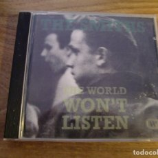 CDs de Música: THE SMITHS - THE WORLD WON'T LISTEN (CD, COMP, RE) . Lote 173083718