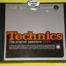 CDs de Música: TECHNICS, THE ORIGINAL SESSIONS 2005, TRIPLE, 3 CD, HOUSE, DANCE, TRANCE & PROGRESSIVE. Lote 173092284