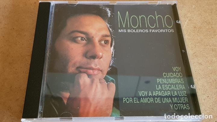MONCHO / MIS BOLEROS FAVORITOS / CD - HELIX-1999 / 15 TEMAS / CALIDAD LUJO. (Música - CD's Melódica )