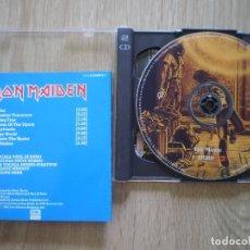 CDs de Música: DOBLE CD IRON MAIDEN. IRON MAIDEN + BONUS CD. . Lote 173136403