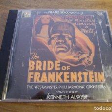 CDs de Música: FRANZ WAXMAN - THE BRIDE OF FRANKENSTEIN (CD, ALBUM) . Lote 173136458