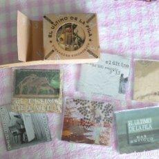 CDs de Música: EL ÚLTIMO DE LA FILA ASTRONOMÍA RAZONABLE SINGLES Y MAQUETAS BOX 6CDSINGLES. Lote 173139575