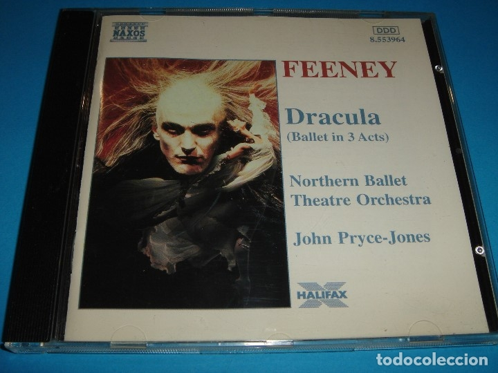 PHILIP FEENEY / DRACULA / BALLET EN TRES ACTOS / NAXOS / CD (Música - CD's Otros Estilos)