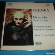 CDs de Música: PHILIP FEENEY / DRACULA / BALLET EN TRES ACTOS / NAXOS / CD. Lote 173158287