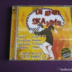 CDs de Música: LA GRAN SKA PADA DOBLE CD 23 TEMAS - DECIBELIOS - MALARIANS - POTATO - SKATALA - DR CALYPSO. Lote 190223225