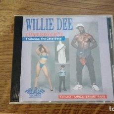 CDs de Música: WILLIE DEE -CONTROVERSY- (1989) PIEZA DE COLECCIONISTA, MUY POCAS COPIAS EN TODO EL MUNDO. Lote 173207150