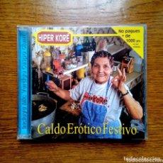 CDs de Música: HIPER KORÉ - CALDO ERÓTICO FESTIVO + MAKETA, 1996. SPAIN.. Lote 173209525
