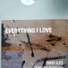 CDs de Música: NIKKI ILES – EVERYTHING I LOVE. Lote 173228518