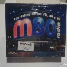 CDs de Música: BOX 3 X CD NUEVO PRECINTADO - LOS EXITOS DE LOS 70 80 Y 90 M80 RADIO. Lote 173249300