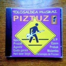 CDs de Música: TOLOSALDEA MUSIKAZ PIZTUZ - BILDUMA, GAZTE ASANBLADA, 2003. EUSKAL HERRIA.. Lote 173250684