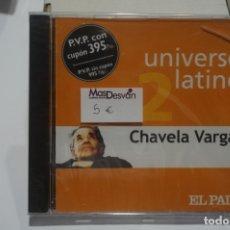CDs de Música: CD NUEVO PRECINTADO - UNIVERSO LATINO 2 / CHAVELA VARGAS. Lote 173251374